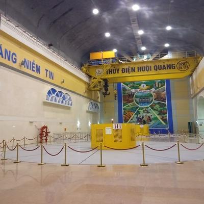 Hệ thống điều nhiệt Nhà máy thủy điện Huội Quảng